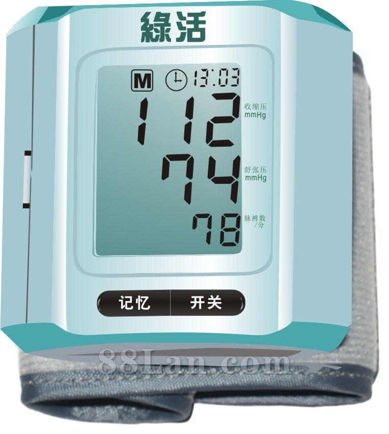 精准价兼厂家批发T811手腕式语音电子血压计1358651085 何先兰