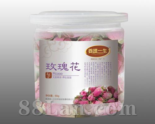 玫瑰花――罐装花草茶系列