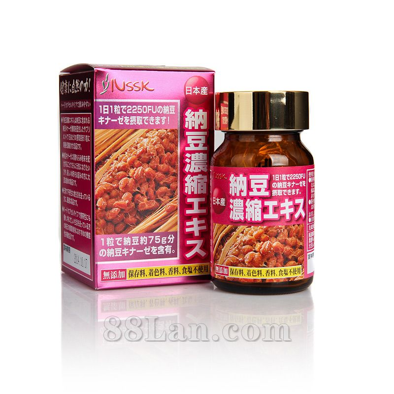 NSSK纳豆浓缩精华营养胶囊