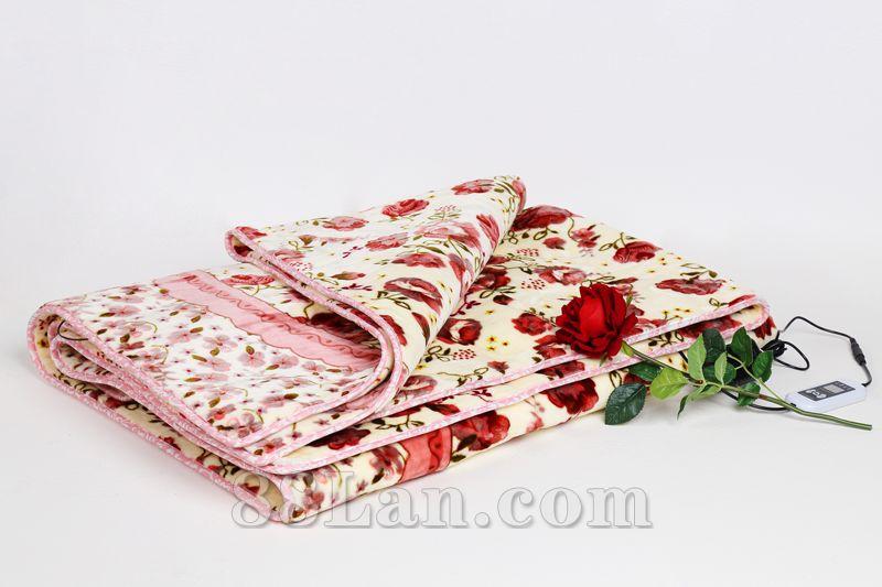 雪晶弧热敷保健毯--发热服饰