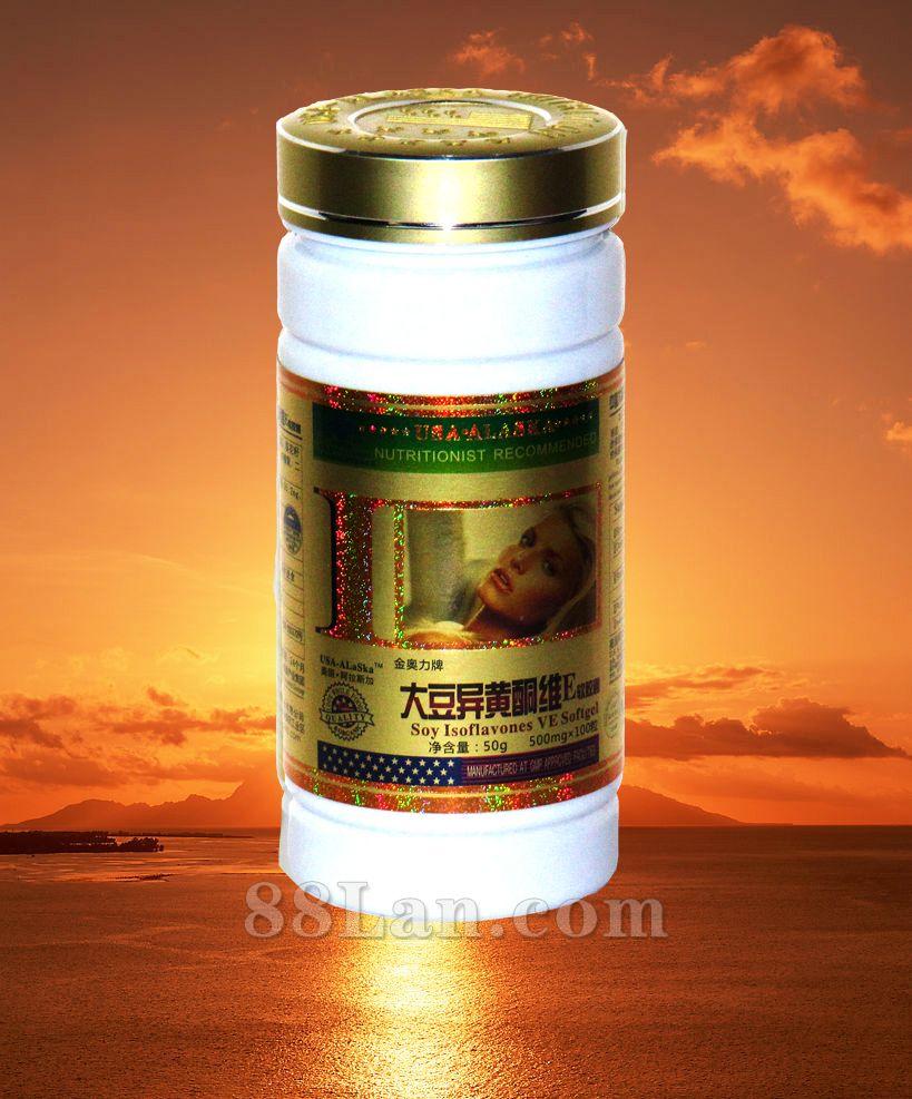 407大豆异黄酮钙软胶囊(健)