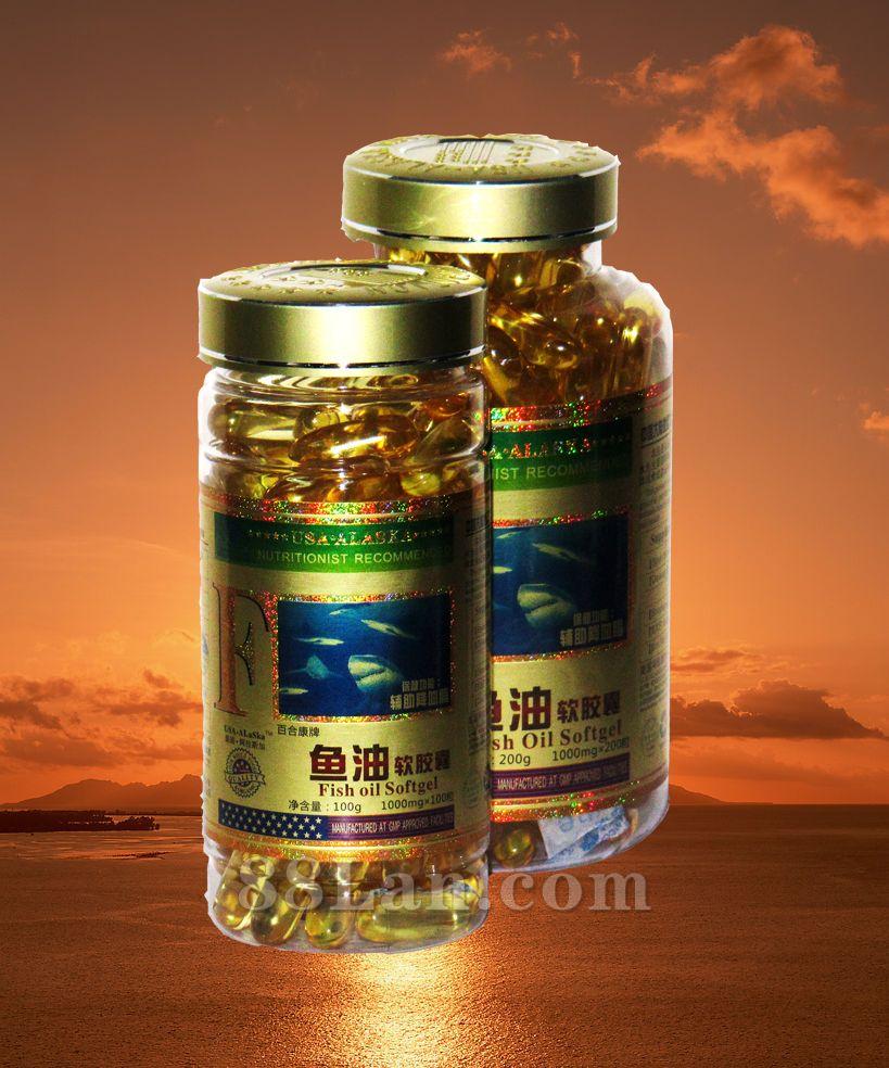 108  鱼油(深海鱼油)软胶囊(健)