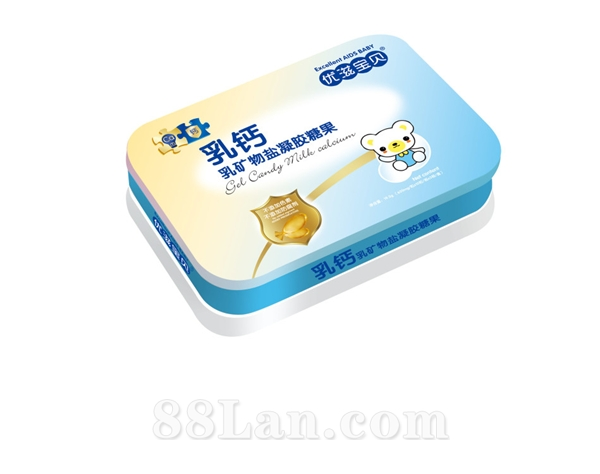 乳钙乳矿物盐凝胶糖果