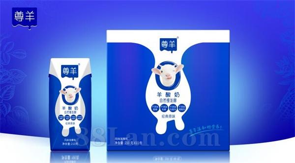 羊酸奶(活菌) 风味发酵乳 液态奶   羊奶粉