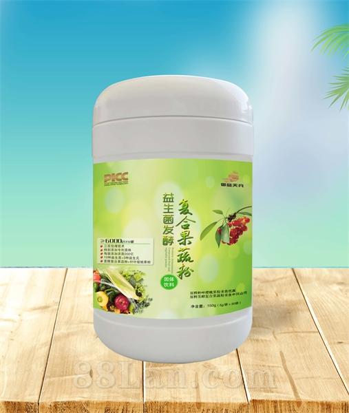 益生菌发酵复合果蔬粉固体饮料