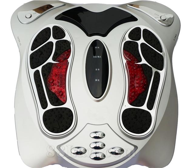 低频足疗机 气血循环机远红外足部按摩仪 评点礼品 体验器械