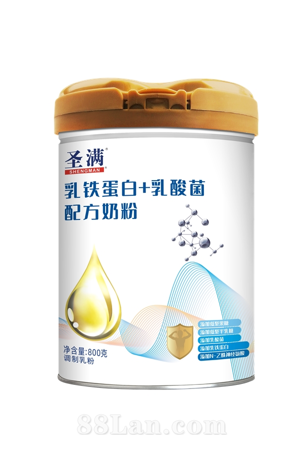 圣满乳铁蛋白+乳酸菌奶粉
