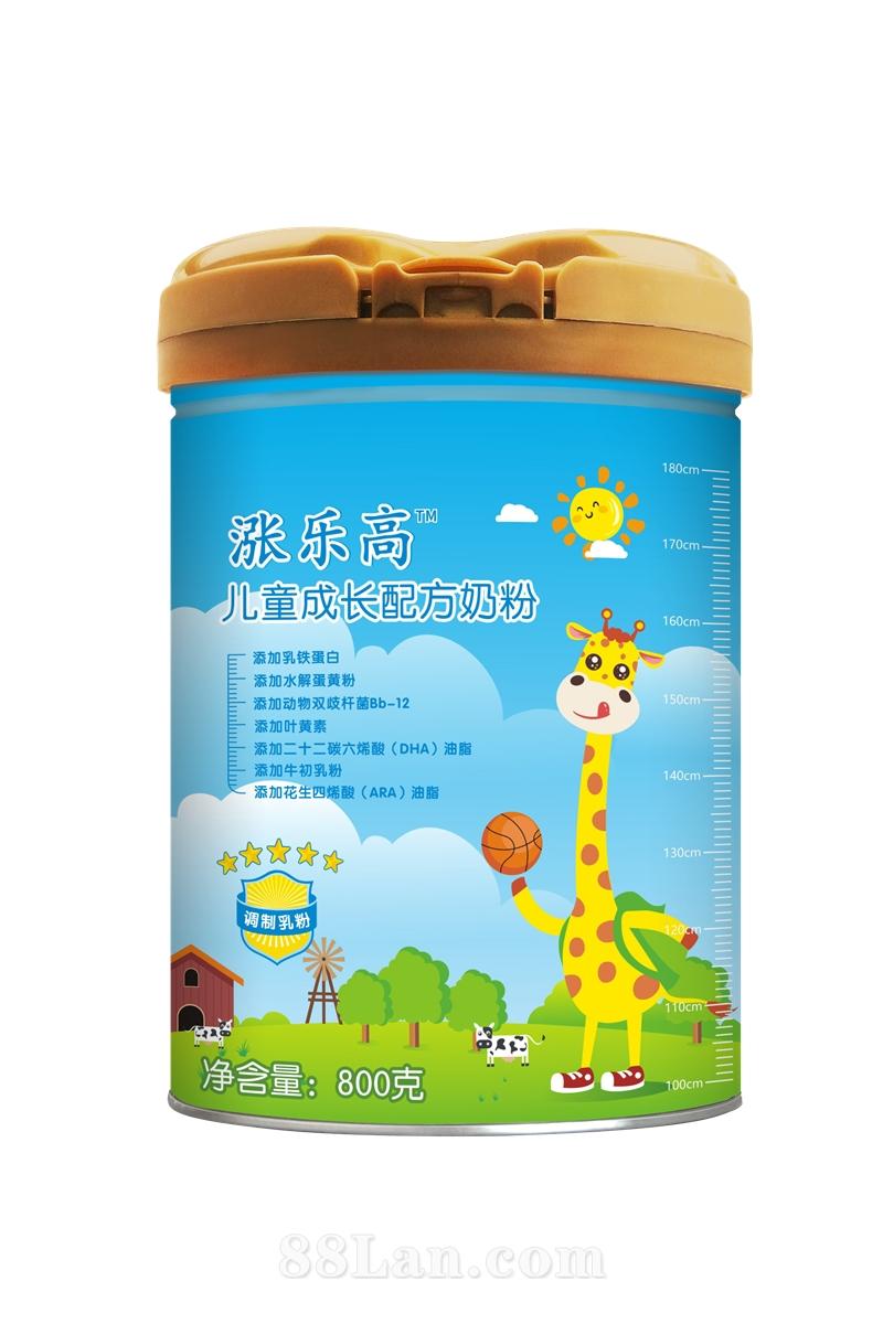 涨乐高儿童成长配方奶粉