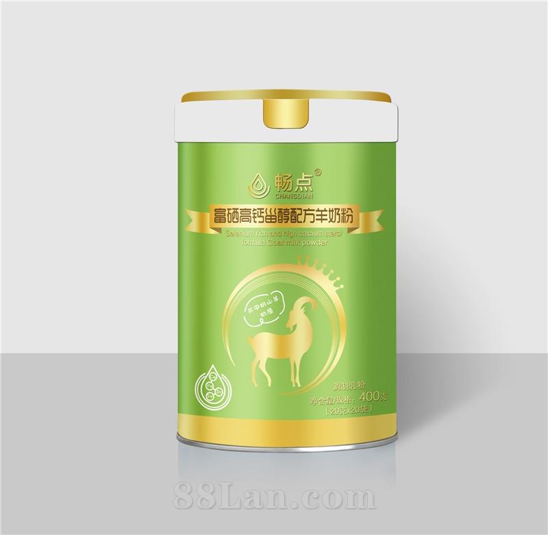 工厂直供 原产 畅点富硒高钙甾醇配方羊奶粉  桶装  独立包装  全国招商 oem