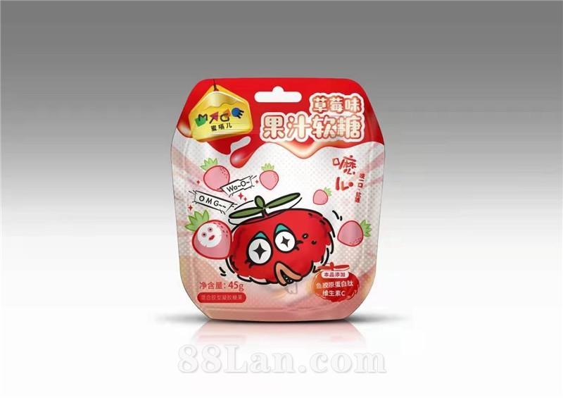 草莓味果汁软糖  胶原蛋白肽 维生素C   全国招商/oem