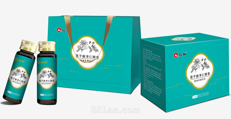 仁和莲子酸枣仁植物发酵饮酵素OEM贴牌代加工