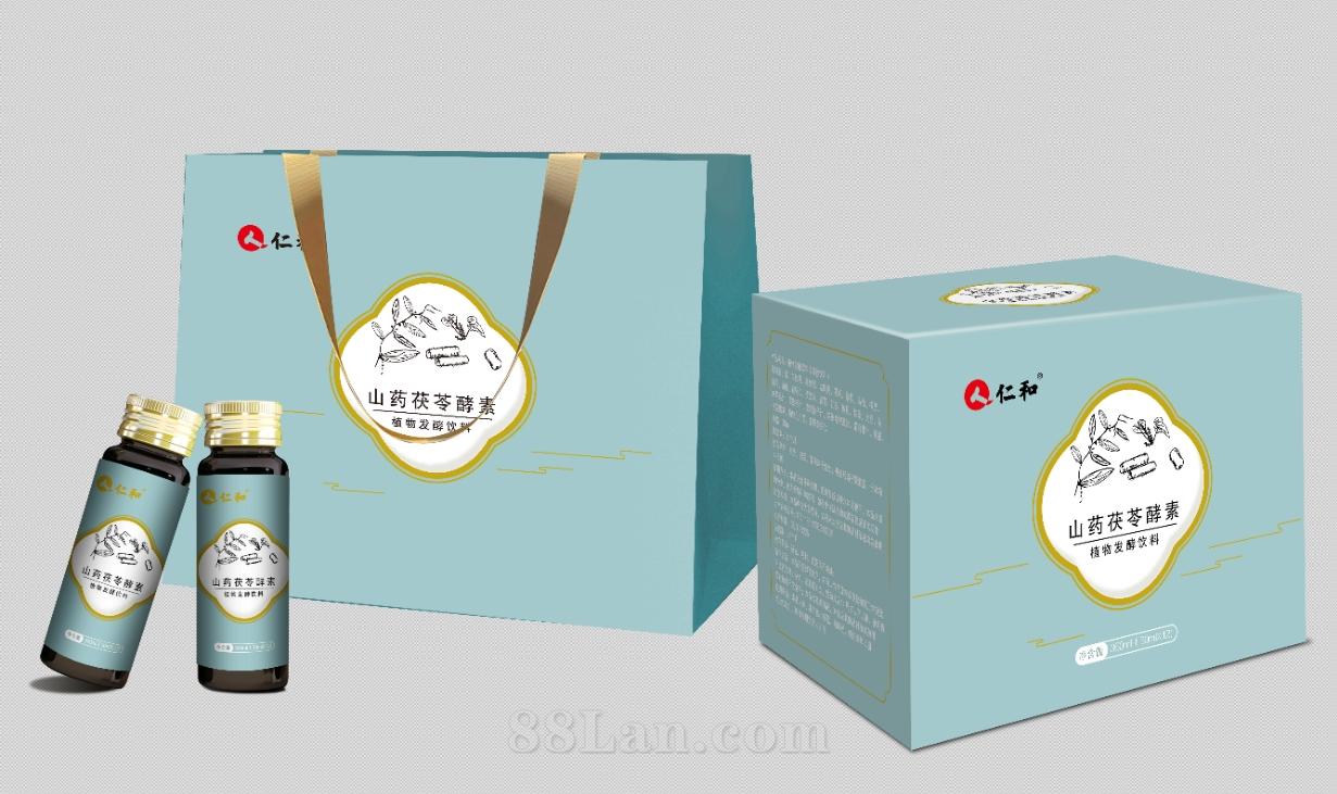 仁和山药茯苓植物发酵饮品酵素OEM贴牌代加工