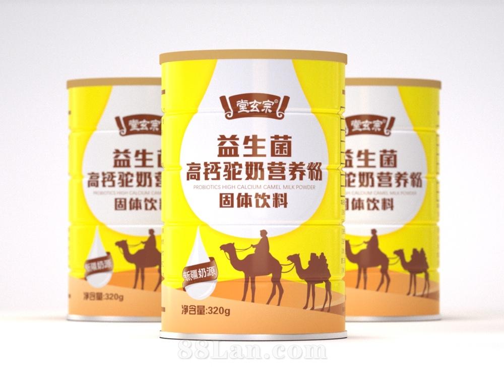 益生菌高钙驼奶营养粉 固体饮料